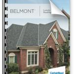 Belmont roof shingle brochure