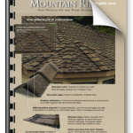 Mountain Ridge Shake Style shingles