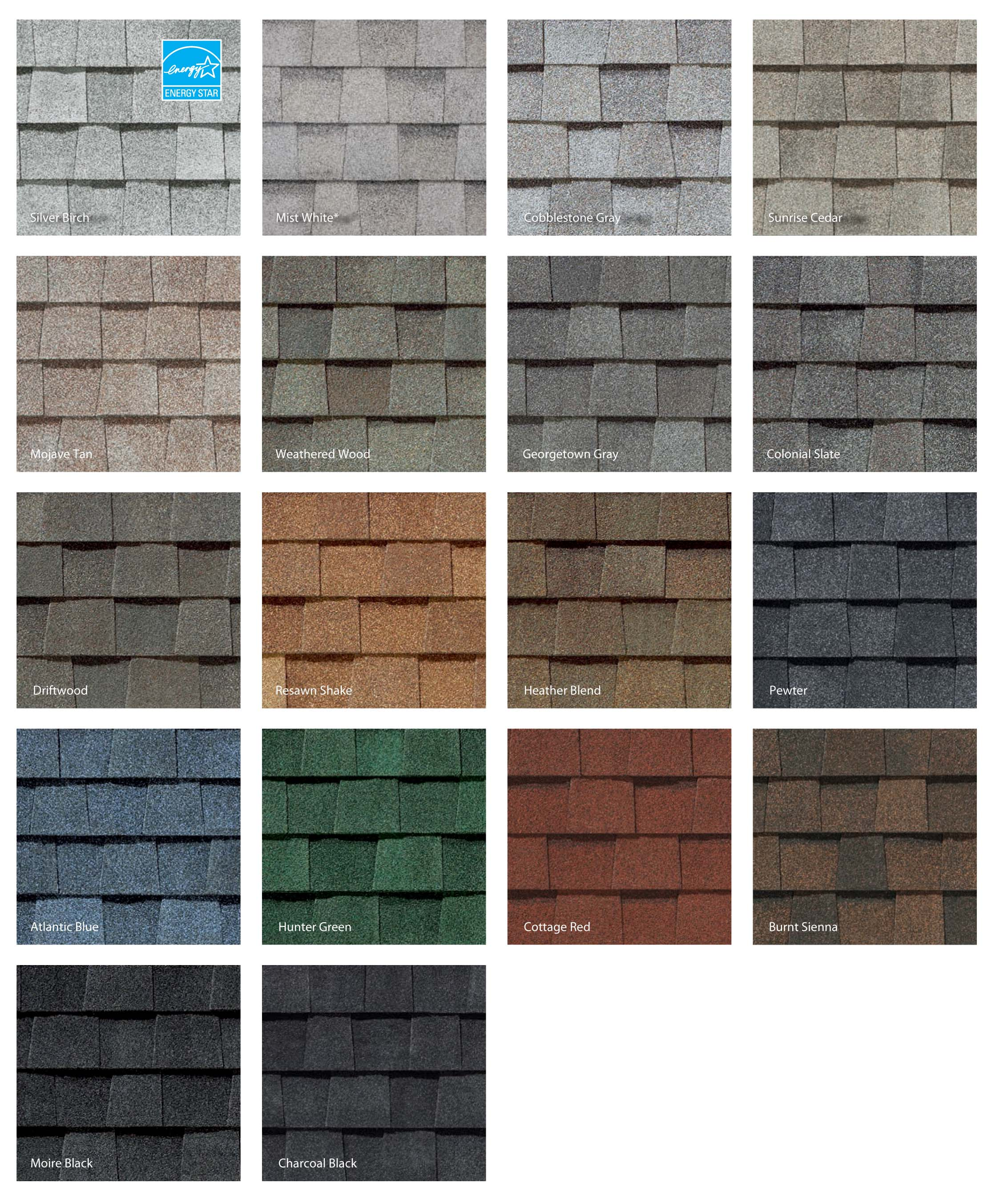 Roofing Tile Colors Smith Roofing Tallahassee
